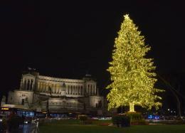 Spelacchio torna a brillare: la Città Eterna si veste per Natale