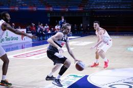 A2 - L'Atlante Eurobasket cade nel finale contro Pistoia