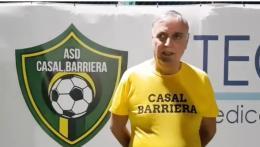 """Casal Barriera, Crisanti: """"Vogliamo recuperare il terreno perso"""""""