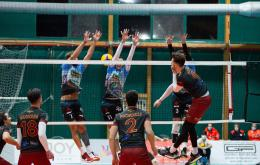 A3- Roma rialza la testa: Modica ko in 3 set