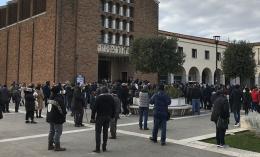 Ciao Piero: il saluto commosso di Pomezia a Pietro Peri