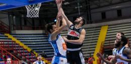 A2 - L'Eurobasket tiene un tempo, poi cede a Napoli