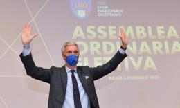 Cosimo Sibilia confermato presidente della Lega Nazionale Dilettanti