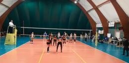 C- Match lungo e tirato: la Giro Volley passa a Tor Sapienza