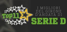 La Top 11 di Serie D: i migliori del girone d'andata