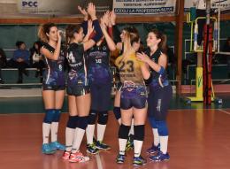 C- Giò Volley, vittoria in scioltezza: Golfo Pontino al tappeto