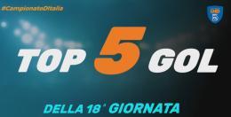 VIDEO! Top 5 gol della 18ª giornata: in corsa anche un laziale
