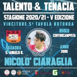 T&T, 5ª Tavola Rotonda: parla il vincitore Nicolò Ciaraglia