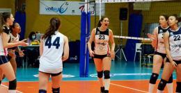C- Volleyrò, vittoria ed aggancio: prima sconfitta per Frascati