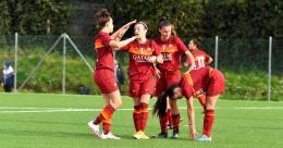 La Roma fa 10 su 10: Roma Calcio Femminile battuta
