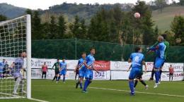 Castelnuovo - Cynthialbalonga: terzo gol incassato da Santilli