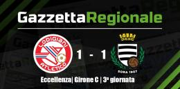 Eccellenza | Girone C | Atletico Lodigiani - Sora 1-1