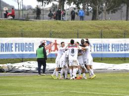 Atletico Terme Fiuggi show a Tolentino: i rossoblù calano il tris