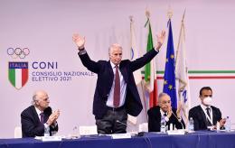Giovanni Malagò rieletto alla guida del CONI per il quadriennio 2021-2024