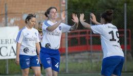 La Littoriana vince il festival del gol contro la Roma Calcio Femminile