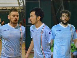 La Lazio saluta e ringrazia Dionisi, Ruzzier ed Hamazawa