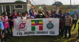 """Atletico Zagarolo: in Etiopia i kit del club. Miceli """"Il calcio è fratellanza"""""""