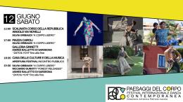 Ecco il festival di danza contemporanea Paesaggi del Corpo