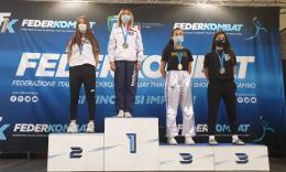 Doppio trionfo per Francesca Ceci ai campionati assoluti italiani