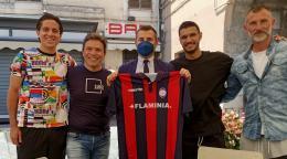 Cento anni di calcio a Civita Castellana: ospiti importanti e molti cimeli