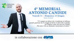 4° Memorial Antonio Candidi: evento online per la ricerca