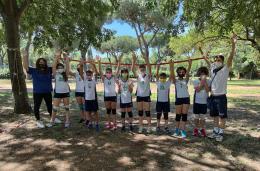 """Il Minivolley della Roma 7 """"in campo"""" a Villa Gordiani"""