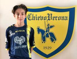 Gioia Aranova! Massimiliano Pernumian in prova al Chievo