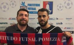 Fortitudo Pomezia, ufficiale anche Matteo Passarelli