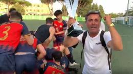 Sporting San Cesareo: De Matteis ed i suoi commentano il successo