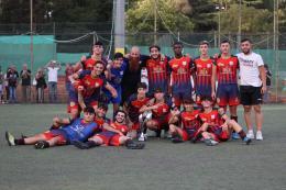 Lo Sporting San Cesareo ora esulta: decisivi i rigori con l'Aranova