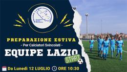 Equipe Lazio, il 12 raduno al campo del Torbellamonaca