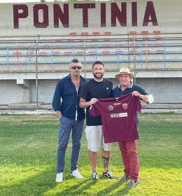 Pontinia, che colpo tra i pali: arriva Angelo Stefanini