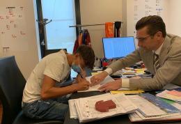 Roma, un'altra firma. Primo contratto per Niccoló Pisilli