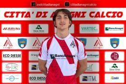 Città di Anagni, dalla W3 arriva il giovane Nicola Tani
