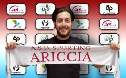 Sporting Ariccia, confermato il capitano Simone Santini