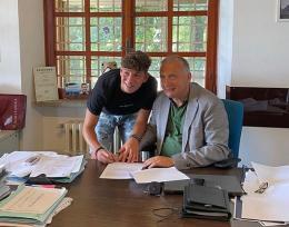 Lazio, primo contratto da professionista per l'ex Savio Fabio Ruggeri