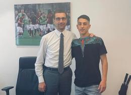 Roma, primo contratto da prof per il 2005 Alessandro Bolzan