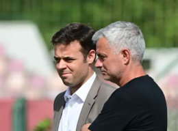 Roma, i giovani sotto gli occhi di Josè Mourinho e Tiago Pinto