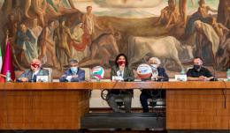"""Roma Volley ed Eurobasket """"Dateci una casa per creare un futuro"""""""