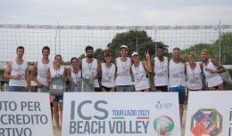 Toti-Frasca e Sablone-Panici conquistano la 5a tappa dell'ICS Beach Volley Tour Lazio