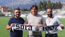 Il Sora presenta lo staff tecnico:  Luca Cavallo è il nuovo allenatore