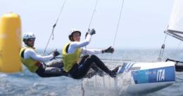 Caterina Banti nella storia della vela! Oro in coppia con Ruggero Tita