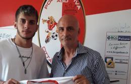 Città di Paliano, un giovane ex Vis Artena: a sinistra scatta Conti