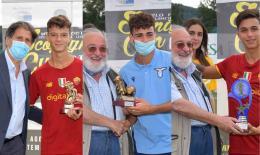 I premi individuali: gioia per Boldrini, Cannatelli e Rozzi