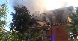 Paura a Torre Angela: esplosione ed incendio in una palazzina