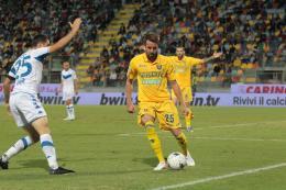 Frosinone beffato dal Brescia: gli scatti dall'Armando Stirpe