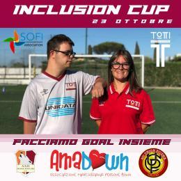 Totti Soccer School: sabato 23 ottobre in scena l'Inclusion Cup