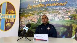 """Rieti, Boccolini: """"Tornati a muovere la classifica senza subire gol"""""""
