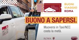 Buoni viaggio: sconti su taxi e NCC per i residenti di Roma