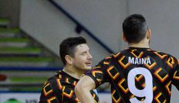 Lucas Maina e Adriano Foglia salutano l'Ecocity Cisterna
